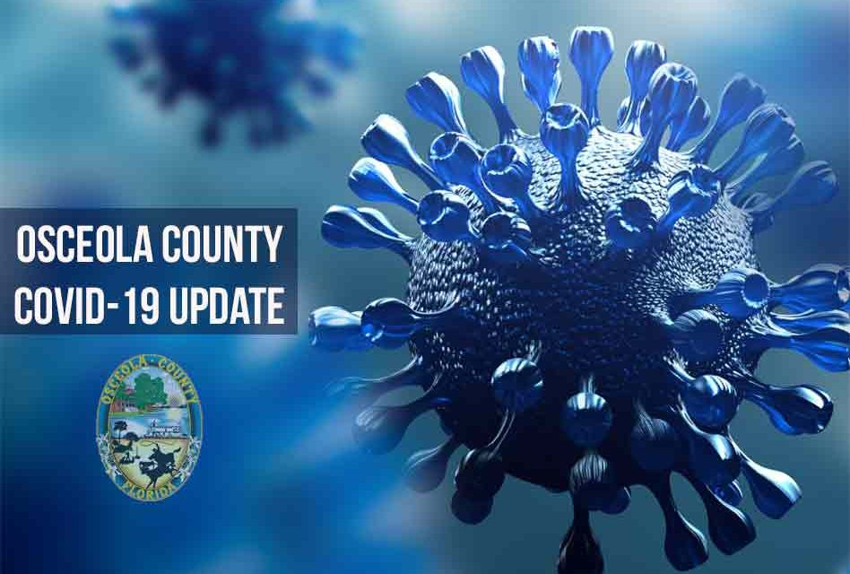 COVID-19 case numbers are up in Osceola County, but positive tests still around 3 percent
