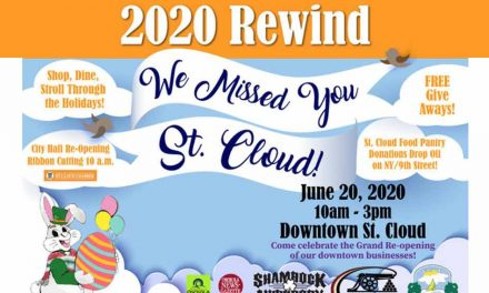 "Time for a ""2020 Rewind"" in historic downtown St. Cloud on June 20"