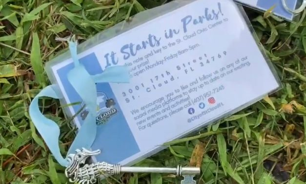 Check out a new St. Cloud park, and be a winner in Parks & Recreation's scavenger hunt in July!