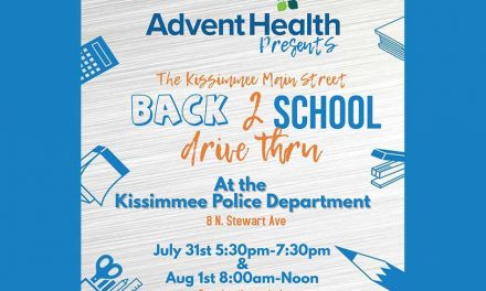 Kissimmee Main Street to host Back 2 School Drive-thru at KPD July 31, August 1