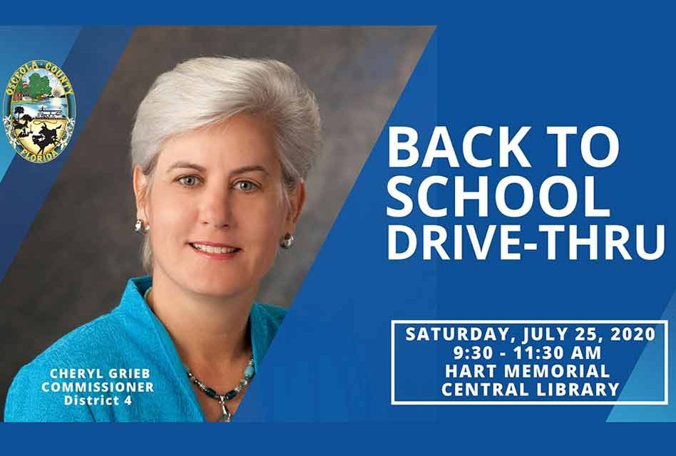 Osceola County District 4 Back to School Drive-Thru with Commissioner Cheryl Grieb