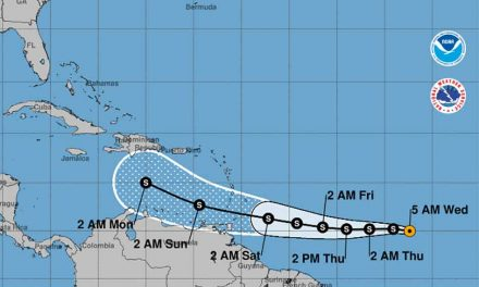 Depression in Atlantic could become Tropical Storm Gonzalo later today