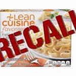Nestles recalls Lean Cuisine Fettuccini Alfredo