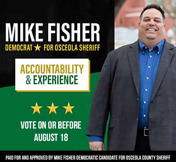 Mike Fisher for Osceola Sheriff