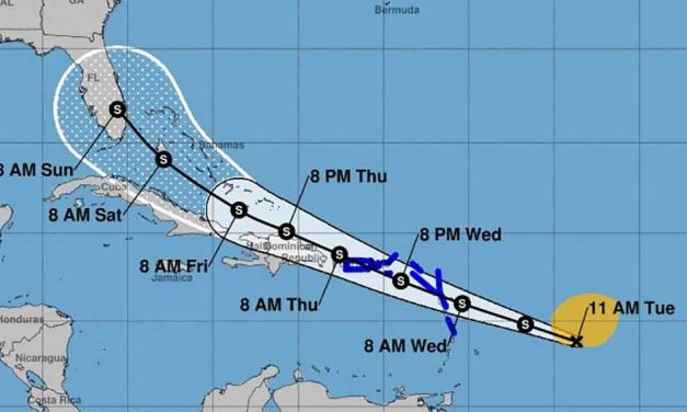 National Hurricane Center issues warnings for what could become Tropical Storm Isaias, Florida in the early path