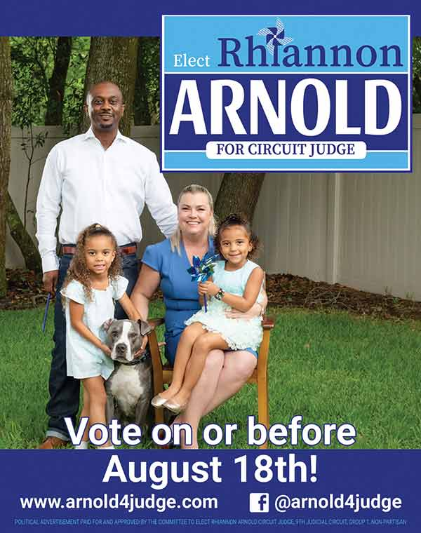 Elect Rhiannon Arnold for Circuit Judge