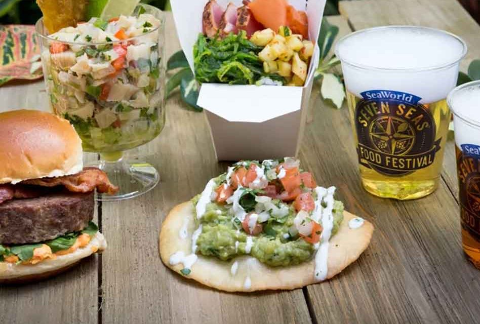 "Seaworld Orlando serves up some savory flavors at ""A Taste of Seven Seas "" Festival"