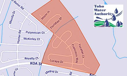 Toho Water issues precautionary boil water advisory to customers located on San Remo Road