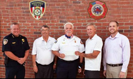 Kissimmee Fire & Police receive $26 thousand donation from former Osceola Hundred Club