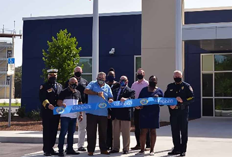 Kissimmee officially opens new Public Safety Training Center for Kissimmee Fire and Kissimmee Police