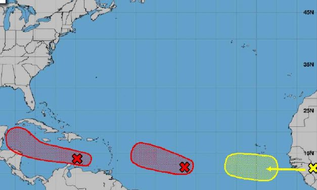 National Hurricane Center watching two tropical waves developing in the Atlantic