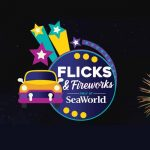 SeaWorld Orlando's Flicks & Fireworks continues Fridays and Saturdays