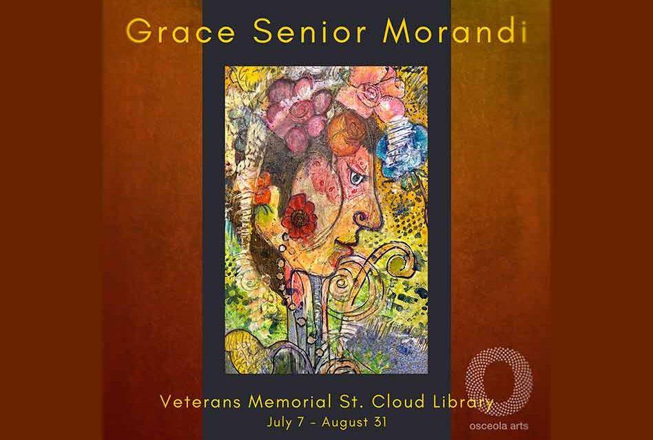 Osceola Arts: Art in Public Places presents Central Florida artist Grace Senior-Morandi in St. Cloud