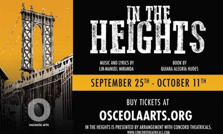 "Osceola Arts to present ""In the Heights"" LIVE beginning in September"
