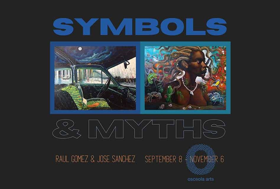 """""""Symbols and Myths"""" exhibition currently open in Osceola Arts Community Gallery in Kissimmee"""