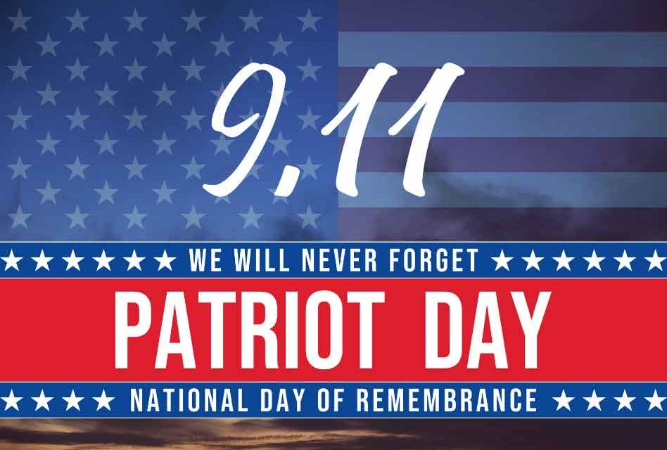 Today we remember: 19 years ago our nation and our hearts were attacked, we will never forget