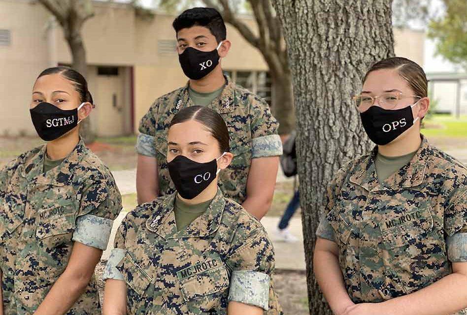 Gateway High School MCJROTC Earns Naval Honor School Distinction