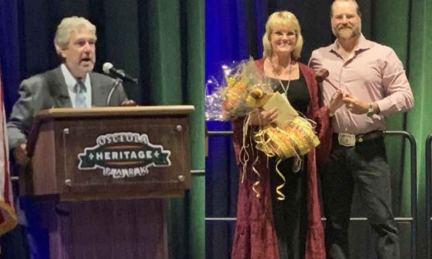 St. Cloud Chamber of Commerce passes the gavel, shows its heart, and supports a worthy cause