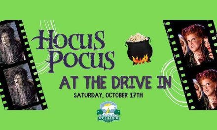 St. Cloud Parks and Rec. to show Hocus Pocus, Oct. 17 at Chisolm Park  – drive-in style!