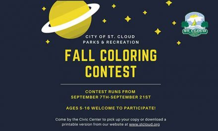 St. Cloud Parks and Rec. to hold Fall Coloring Contest, download here!
