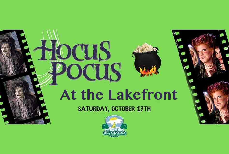 Get ready for some Hocus Pocus at the St. Cloud Lakefront Saturday October 17