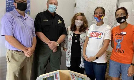Osceola County Sheriff's Office steps up to support reading in Osceola County