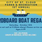 Be a part of City of St. Cloud's 1st Annual Cardboard Regatta – cuz you gotta regatta!