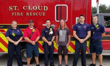 St. Cloud man thanks St. Cloud Fire Rescue Station 31 crew that saved his daughter's life