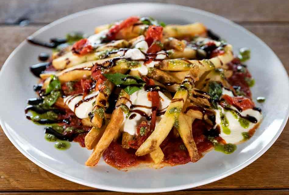 How about a recipe for some Positively Delicious Universal Orlando Margherita Pizza Fries?