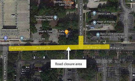 Toho Water announces temporary closure to thru traffic on W. Bryan Street for sewer project