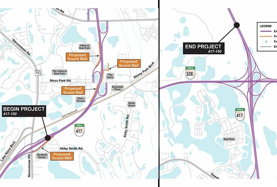 CFX to hold virtual pre-construction community meeting for Narcoossee Road to SR 528 417 widening