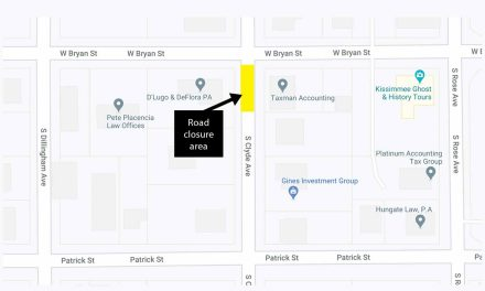 Temporary closure to thru-traffic on S. Clyde Ave. starting tonight, October 15