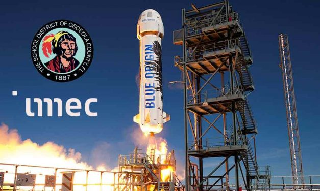 NeoCity Academy to fly student experiments along with imec to space aboard future Blue Origin rocket launch