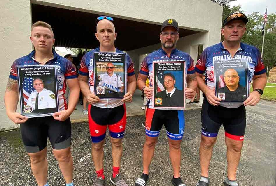 Brotherhood Ride Comes to Kissimmee, honors the fallen