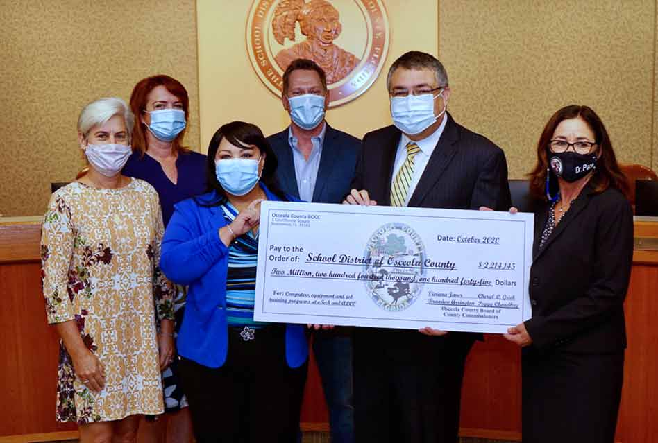 Osceola County funds School Districtwith $2.3 million from CARES Act assistance