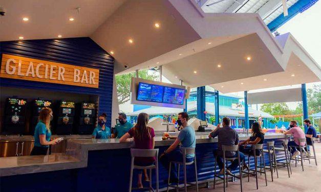 Beat the heat with SeaWorld Orlando's new Glacier Bar!