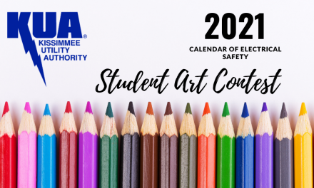 Kissimmee Utility Authority Seeking Student Art Entries for 2021 Electrical Safety Calendar