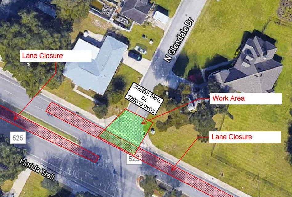 Lane closure on Neptune Rd. will resume on Monday October 26 for sewer project
