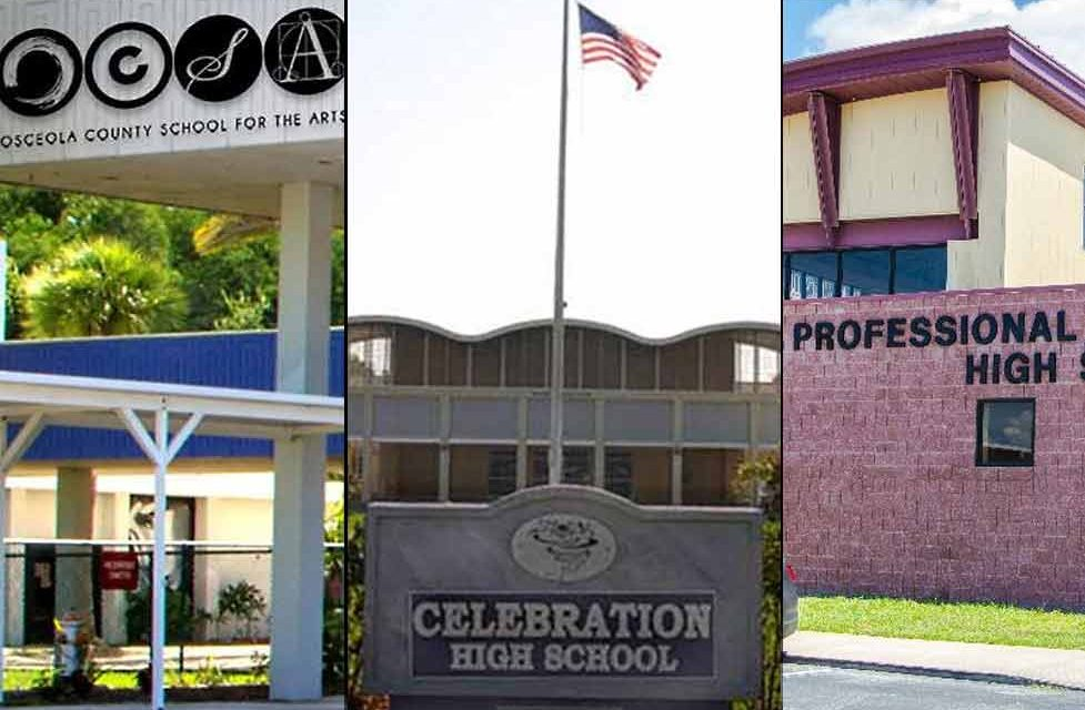 Three Osceola County high schools named among top public high schools In Central Florida