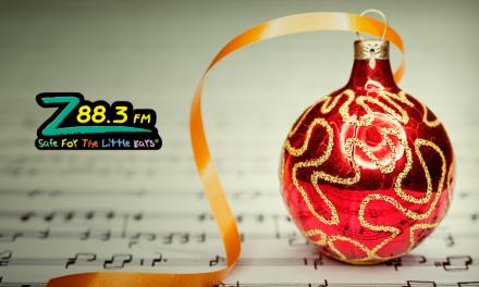 Z88.3 kicks off Christmas a little early, and Positively Osceola thanks them!