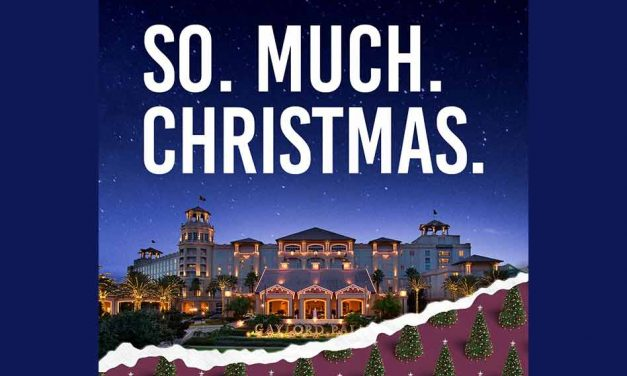 It's Christmas at Gaylord Palms… So Much Christmas!