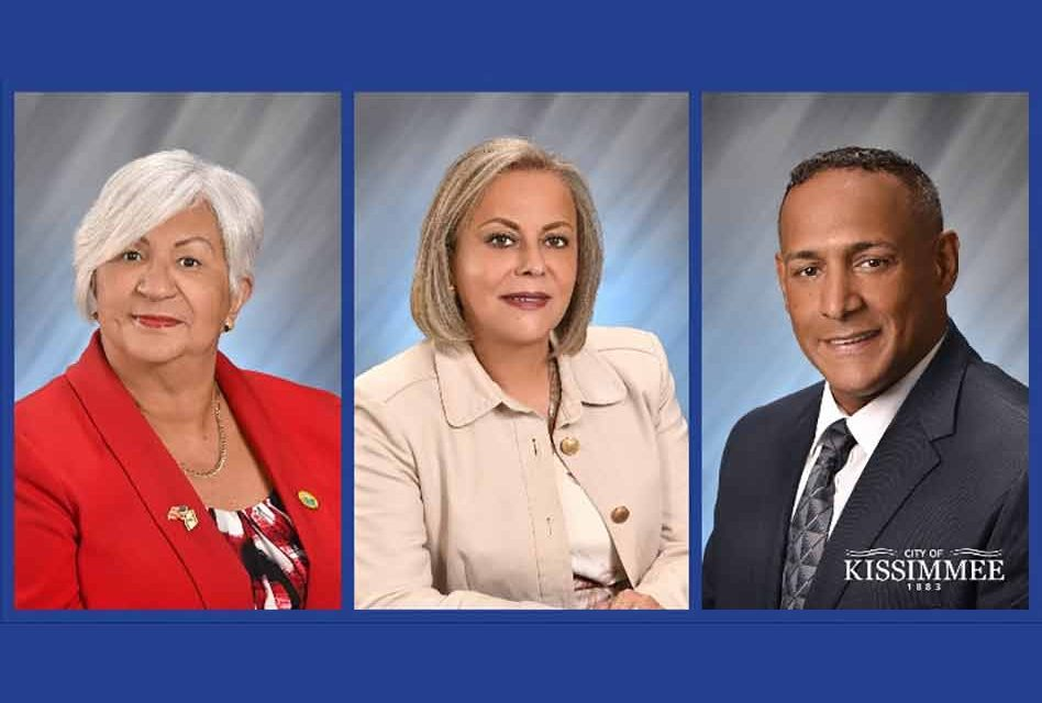 City of Kissimmee swears-in new mayor and two city commissioners