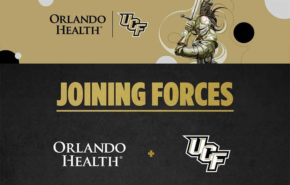 Orlando Health announces new partnership with UCF Athletics!