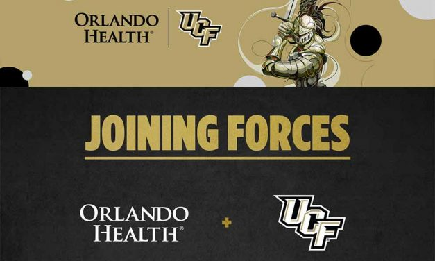 Orlando Health announces new partnership with UCF Athletics!