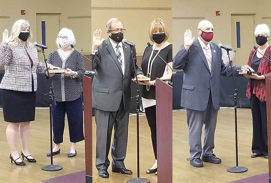St. Cloud swears in newly re-elected council members