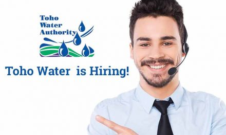 Toho Water Authority is hiring!