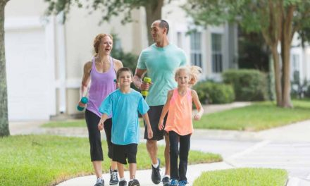 Make physical activity a regular part of the day to improve physical and mental fitness