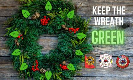 """St. Cloud Fire Rescue Kicks off """"Keep the Wreath Green"""" Holiday Fire Safety Campaign"""