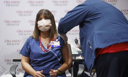 Orlando Health vaccinates nearly 1,400 of its frontline health care workers