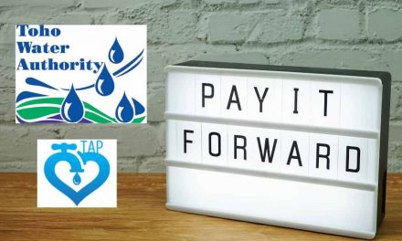 "Toho Water Authority customers can now ""pay it forward to help others"